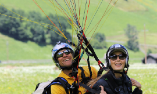 PARAGLIDING FULL LICENSE COURSE